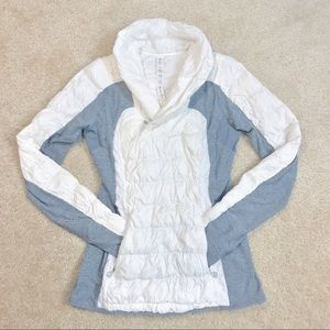 RARE Lululemon Run: Goose Down Insulator Pullover